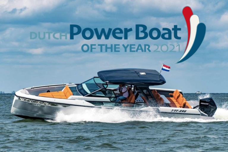 SAXDOR 320 GTO powerboat van het jaar