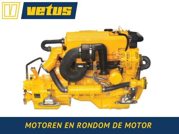 MOTOREN EN RONDOM DE MOTOR Vetus